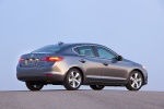 2013 Acura ILX Sedan 2.0 in Polished Metal Metallic - Static Rear Three-quarter View
