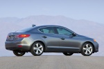 2013 Acura ILX Sedan 2.0 in Polished Metal Metallic - Static Rear Right View