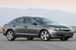 2013 Acura ILX Sedan 2.0 in Polished Metal Metallic - Static Front Three-quarter View