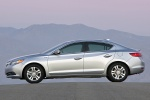 2013 Acura ILX Sedan 1.5 Hybrid in Silver Moon - Static Side View