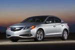 2013 Acura ILX Sedan 1.5 Hybrid in Silver Moon - Static Front Three-quarter View