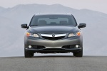 2013 Acura ILX Sedan 2.0 in Polished Metal Metallic - Static Frontal View