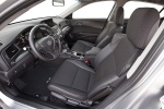Picture of 2013 Acura ILX Sedan 1.5 Hybrid Front Seats in Ebony
