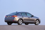 2014 Acura ILX Sedan 2.0 in Polished Metal Metallic - Static Rear Three-quarter View