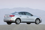 2014 Acura ILX Sedan 1.5 Hybrid in Silver Moon - Static Rear Right View