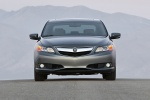 2015 Acura ILX Sedan 2.0 in Modern Steel Metallic - Static Frontal View