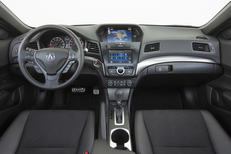 2017 Acura ILX Sedan Cockpit Picture