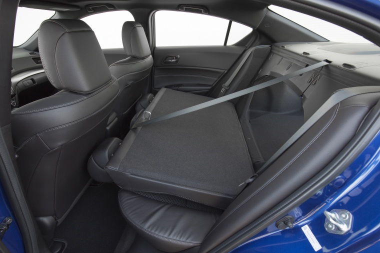 2017 Acura ILX Sedan Rear Seats Folded Picture