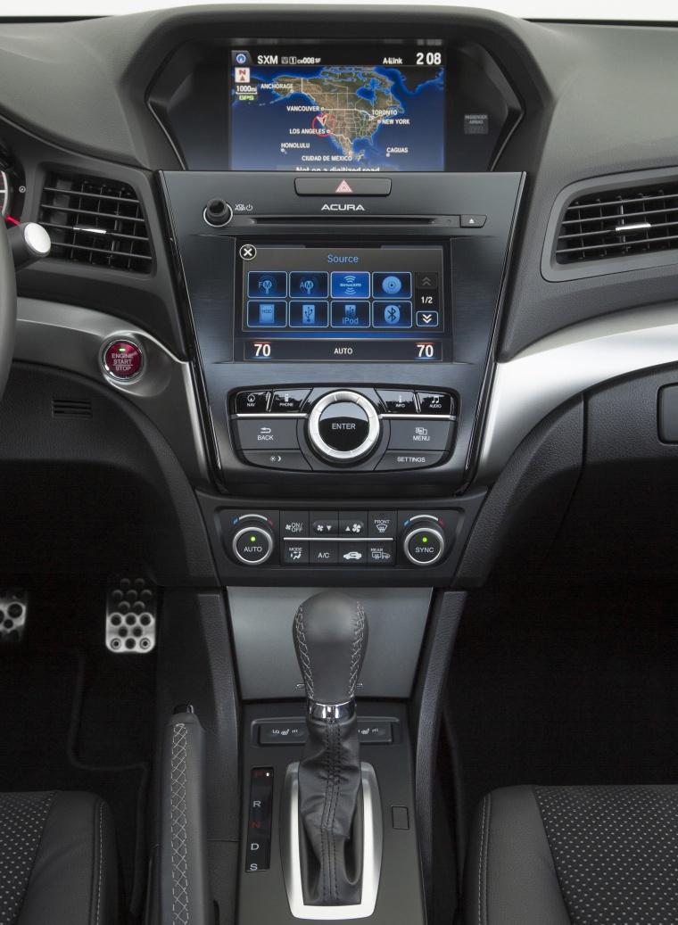 2017 Acura ILX Sedan Center Stack Picture