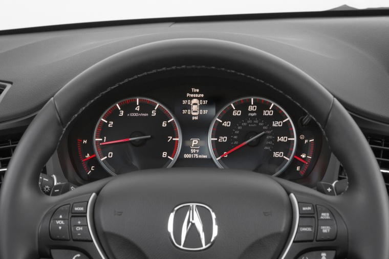 2017 Acura ILX Sedan Gauges Picture