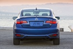 2017 Acura ILX Sedan in Catalina Blue Pearl - Static Rear View