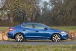2017 Acura ILX Sedan in Catalina Blue Pearl - Static Right Side View