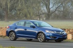 2017 Acura ILX Sedan in Catalina Blue Pearl - Static Front Right View