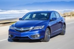 2017 Acura ILX Sedan in Catalina Blue Pearl - Driving Front Left View
