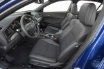 2017 Acura ILX Sedan Front Seats in Ebony