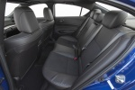 2017 Acura ILX Sedan Rear Seats in Ebony