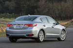 2017 Acura ILX Sedan in Slate Silver Metallic - Static Rear Right View