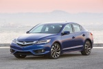 2017 Acura ILX Sedan in Catalina Blue Pearl - Static Front Left View