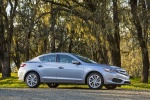 2017 Acura ILX Sedan in Slate Silver Metallic - Static Front Right Three-quarter View