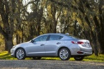2017 Acura ILX Sedan in Slate Silver Metallic - Static Rear Left Three-quarter View