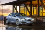 2017 Acura ILX Sedan in Slate Silver Metallic - Static Front Right View