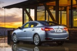 2017 Acura ILX Sedan in Slate Silver Metallic - Static Rear Left View