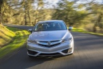 2017 Acura ILX Sedan in Slate Silver Metallic - Driving Frontal View
