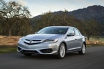 2017 Acura ILX Sedan in Slate Silver Metallic - Driving Front Left View
