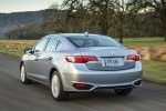 2017 Acura ILX Sedan in Slate Silver Metallic - Driving Rear Left View