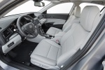 Picture of 2017 Acura ILX Sedan Front Seats in Graystone