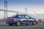 2017 Acura ILX Sedan in Catalina Blue Pearl - Static Rear Right Three-quarter View
