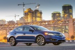 2017 Acura ILX Sedan in Catalina Blue Pearl - Static Front Right Three-quarter View