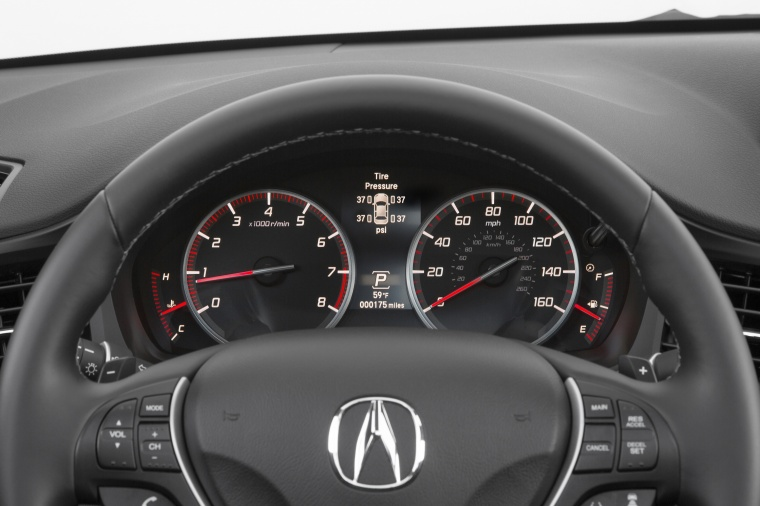 2018 Acura ILX Sedan Gauges Picture