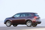 Picture of 2010 Acura MDX in Dark Cherry Pearl