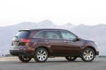 2011 Acura MDX in Dark Cherry Pearl - Static Rear Right Three-quarter View