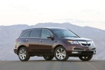 2012 Acura MDX in Dark Cherry Pearl II - Static Front Right Three-quarter View