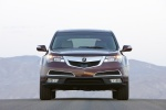 2013 Acura MDX in Dark Cherry Pearl - Static Frontal View