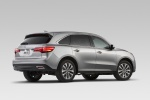 2014 Acura MDX in Silver Moon - Static Rear Right Three-quarter View