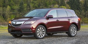 Research the 2014 Acura MDX