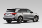 2015 Acura MDX in Silver Moon - Static Rear Right View