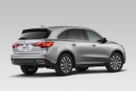 2016 Acura MDX in Silver Moon - Static Rear Right View