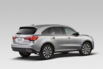 2016 Acura MDX in Silver Moon - Static Rear Right Three-quarter View
