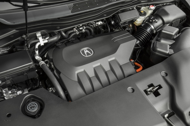 2017 Acura MDX Sport Hybrid 3.0-liter V6 Hybrid Engine Picture
