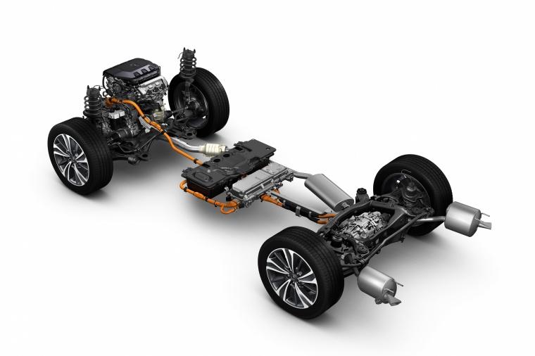 2017 Acura MDX Sport Hybrid Drivetrain Picture