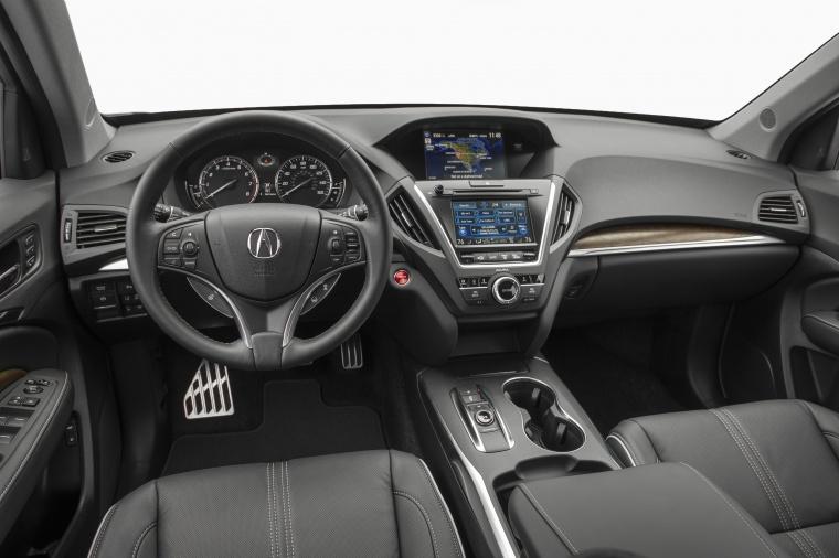 2017 Acura MDX Sport Hybrid Cockpit Picture
