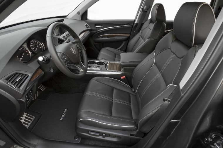2017 Acura MDX Sport Hybrid Front Seats Picture