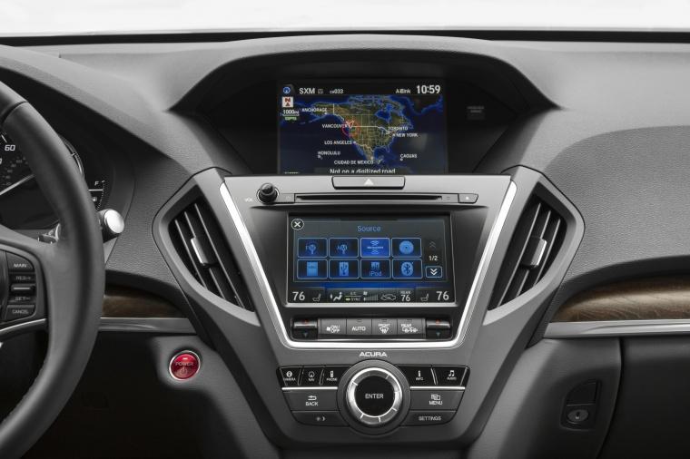 2017 Acura MDX Sport Hybrid Center Stack Picture