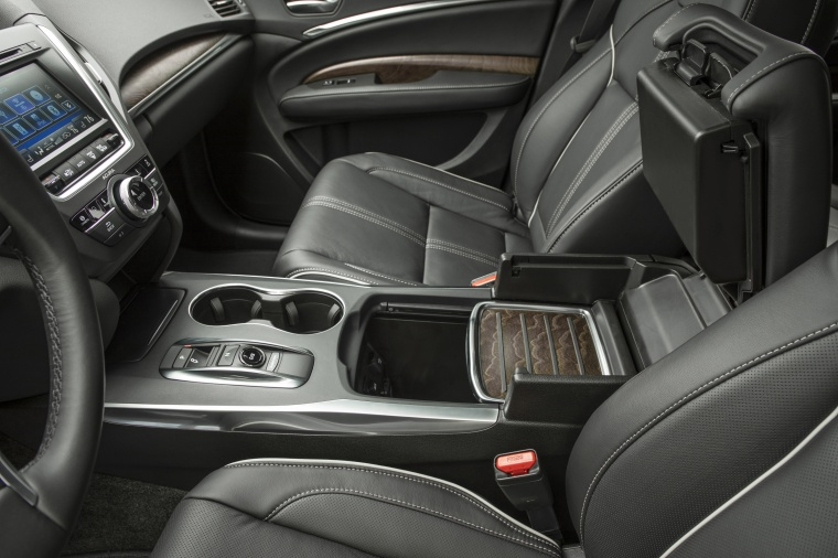 2017 Acura MDX Sport Hybrid Center Console Picture