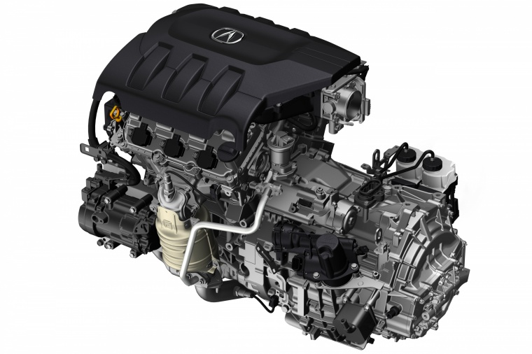 2017 Acura MDX 3.5-liter V6 Engine Picture