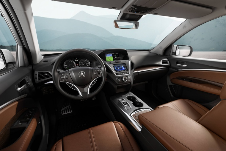 2017 Acura MDX Cockpit Picture